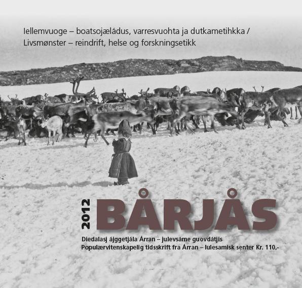 Bårjås 2012 - forside jpg